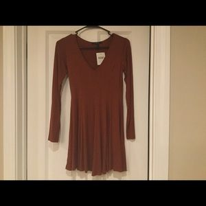 Small Rust colored dress